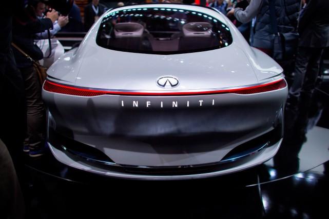 Le prototype Infiniti Q Inspiration a été dévoilé... (photo AFP)