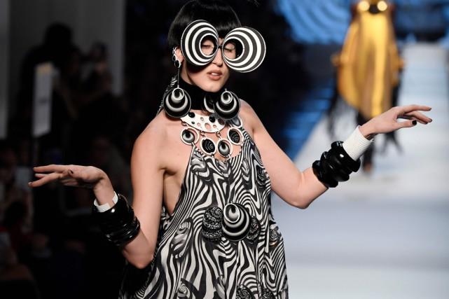 Jean Paul Gaultier a rendu hommage mercredi à... (Photo AFP)