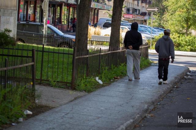 Le coin des rues Lapierre et Pascal à... (PHOTO IVANOH DEMERS, ARCHIVES LA PRESSE)