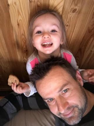 En janvier 2017, la petite Maélia, alors âgée... (PHOTO FOURNIE PAR LA FAMILLE)