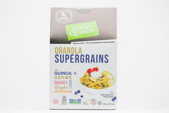 C'est vrai, ce «qranola», c'est-à-dire un granola à... (Photo Edouard Plante-Fréchette, La Presse)