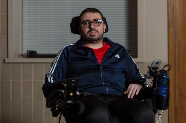 Aymen Derbali, père de trois enfants, a perdu... (PhotoFrancis Vachon, archives La Presse Canadienne)