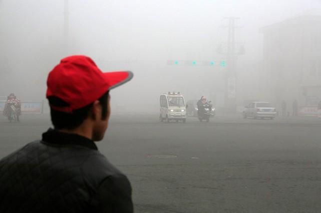 Selon les données d'Orkan, le niveau de pollution... (PHOTO REUTERS/STRINGER)