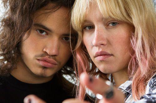 Anthony Therrien et Rose-Marie Perreault dans Les faux... (Photo fournie par la Maison 4:3)