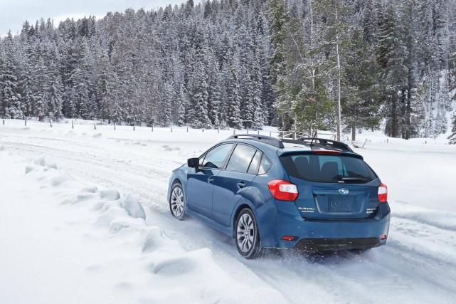 L'efficacité de la traction intégrale de Subaru fait... (Photo : Subaru)
