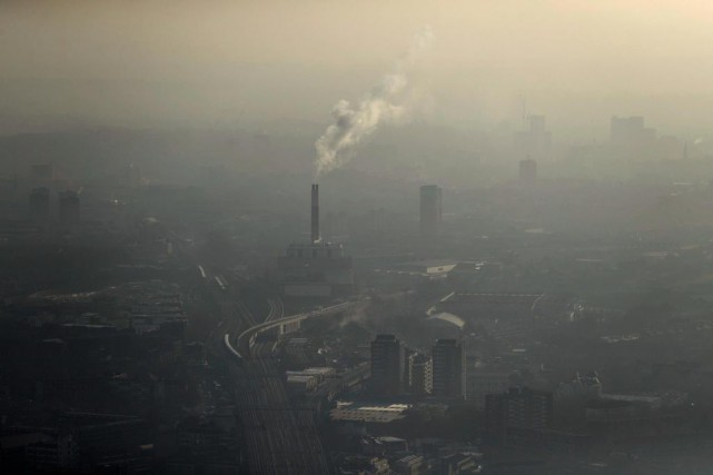 Londres a connu un épisode de pollution extrême,... (Photo Matt Dunham, archives Associated Press)