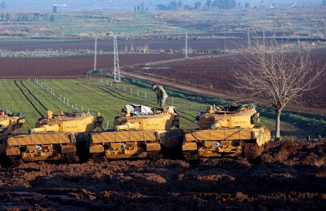 La Turquie a lancé le 20 janvier une... (PHOTO REUTERS)