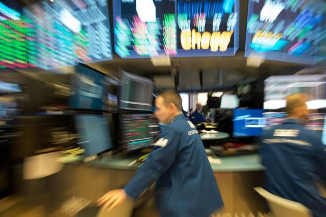 La progression frénétique des marchés boursiers inquiète certains... (PHOTO Bryan R. Smith, Archives agence france-presse)
