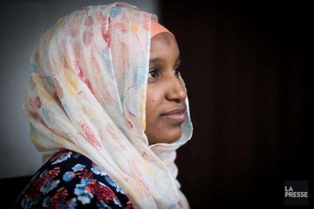 Fatoumata Diallo, veuve d'Ibrahima Barry, l'une des victimes... (PHOTO OLIVIER JEAN, ARCHIVES LA PRESSE)