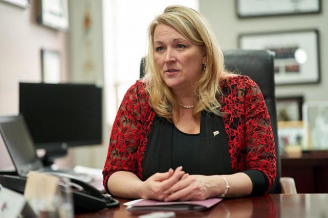 Lise Thériault, nouvelle ministre de l'Habitation... (Photo André Pichette, Archives La Presse)