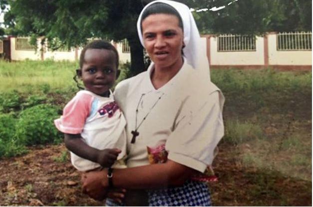 La religieuse franciscaine Gloria Cecilia Narvaez Argoti a... (AFP)