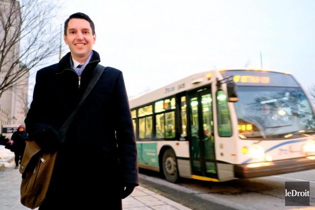 André Fortin, ministre des Transports du Québec.... (PHOTO PATRICK WOODBURY, LE DROIT)