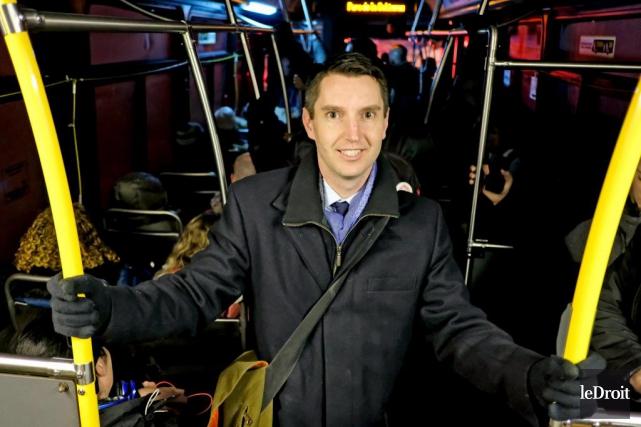 André Fortin, ministre des Transports du Québec... (Photo archives Le Droit)