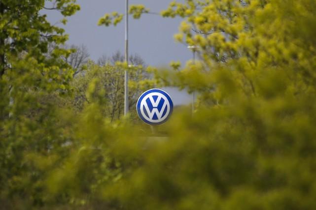 Fin 2015, le groupe Volkswagen avait reconnu avoir... (Markus Schreiber, AP)