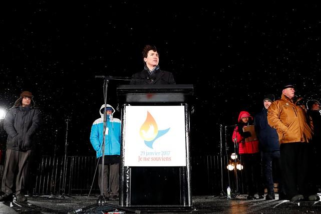 Dans le discours que Justin Trudeau a livré... (Mathieu Belanger, REUTERS)