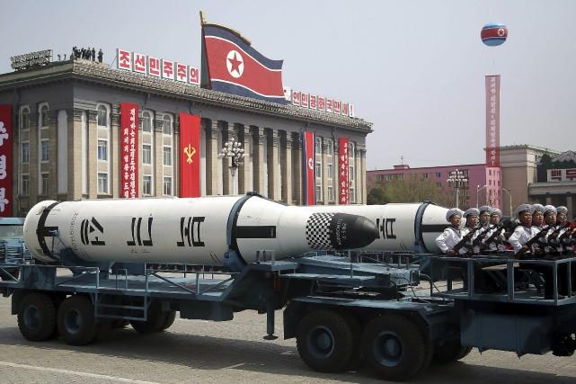 Le régime nord-coréen a procédé l'année dernière à... (Photo Wong Maye-E, archives AP)
