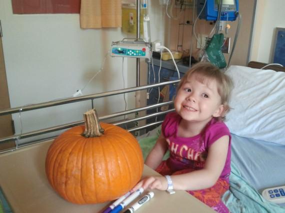 Jade, une enfant qu'aide la Fondation.... (Photo fournie par la Fondation)