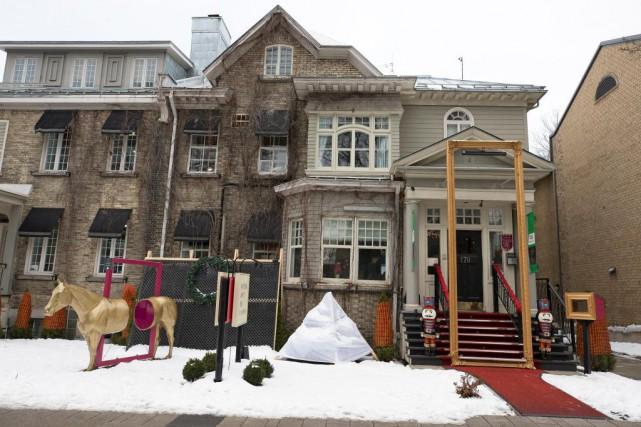 Le C3 hôtel art de vivre est installé... (Photo Robert Skinner, La Presse)