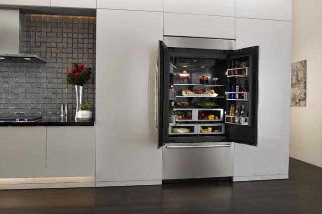 Des modèles de réfrigérateurs Jenn-Air ont un intérieur... (PHOTO FOURNIE PAR WHIRLPOOL)