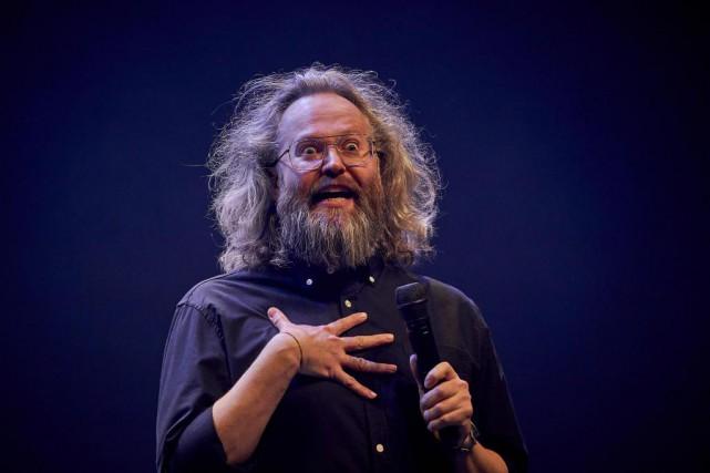 François Bellefeuille a présenté hier son deuxième spectacle,... (Photo André Pichette, La Presse)