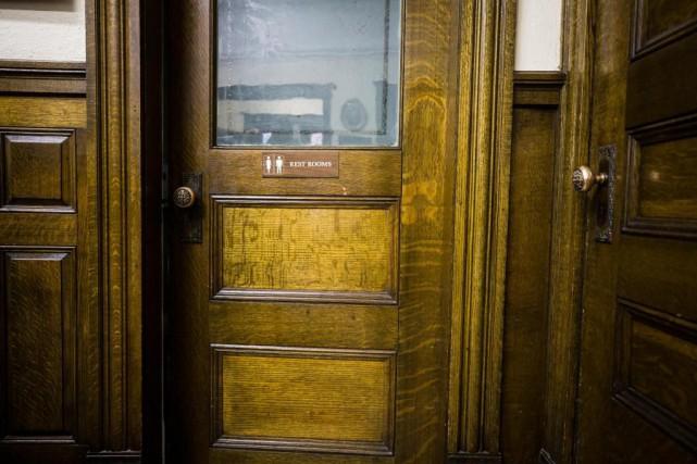 La bibliothèque Haskell a été construite en 1904... (Photo Olivier PontBriand, La Presse)