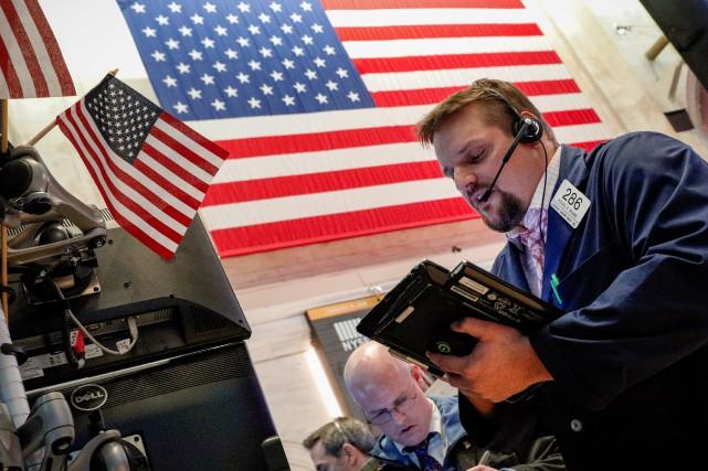 La Bourse de Toronto a clôturé en baisse, jeudi, malgré une forte reprise du... (PHOTO REUTERS)