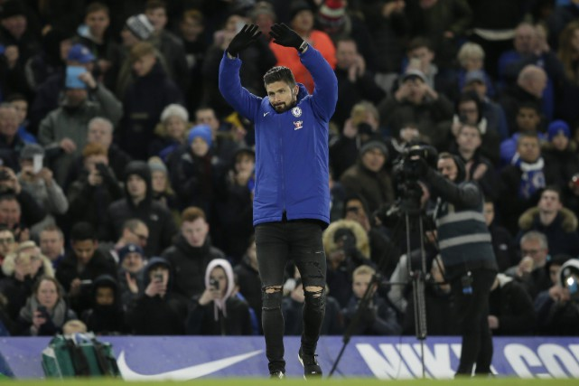 L'acquisition d'Olivier Giroud par Chelsea est au nombre... (Photo Tim Ireland, AP)