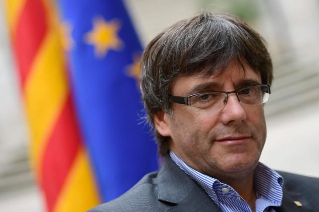 Carles Puigdemont... (AFP)