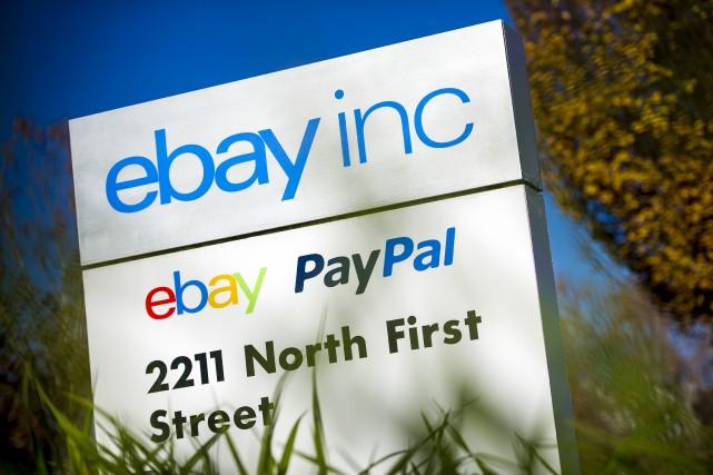 eBay avait séparé en 2015 PayPal du reste... (La Presse Bloomberg)
