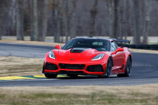 La ZR1 atteint 160 milles à l'heure (257,5... (Photo : Richard Prince, pour General Motors)