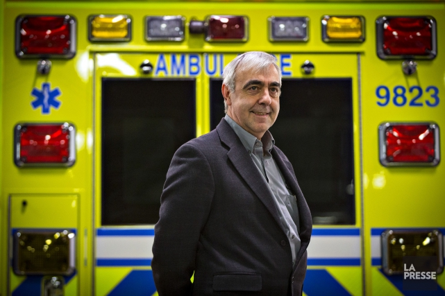 Le PDG de Demers Ambulances, Alain Brunelle... (PHOTO OLIVIER JEAN, ARCHIVES LA PRESSE)