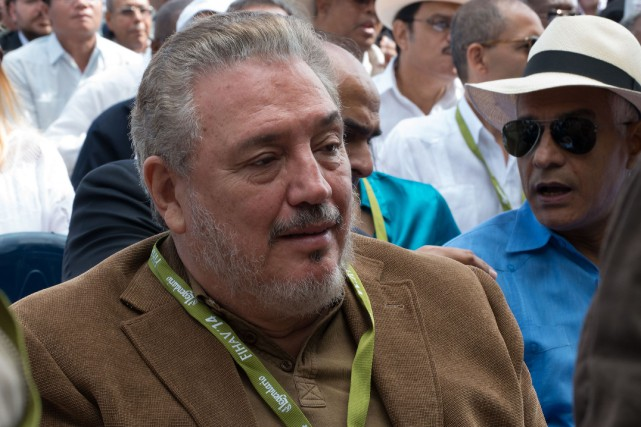 Fidel Castro Diaz-Balarten 2014... (PHOTO Adalberto ROQUE, ARCHIVES AFP)