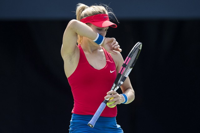 Eugenie Bouchard... (Mark Blinch, archives PC)