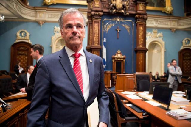 Guy Ouellette a été arrêté par l'UPAC en... (PHOTO JACQUES BOISSINOT, ARCHIVES LA PRESSE CANADIENNE)