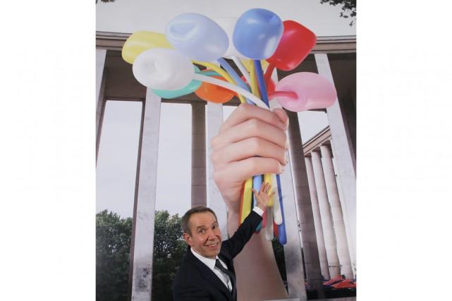 «Dites-le avec des fleurs»: cet adage ne se vérifie pas avec Jeff Koons. Le...