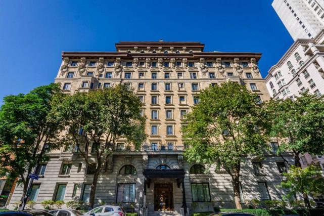 L'appartement de Barbara J. Mitnick est au cinquième... (Photo fournie parSotheby's International Realty Québec)