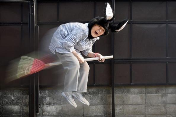 Kimiko Nishimoto, uneHarry Potter de près de 90... (Photo tirée d'Instagram)
