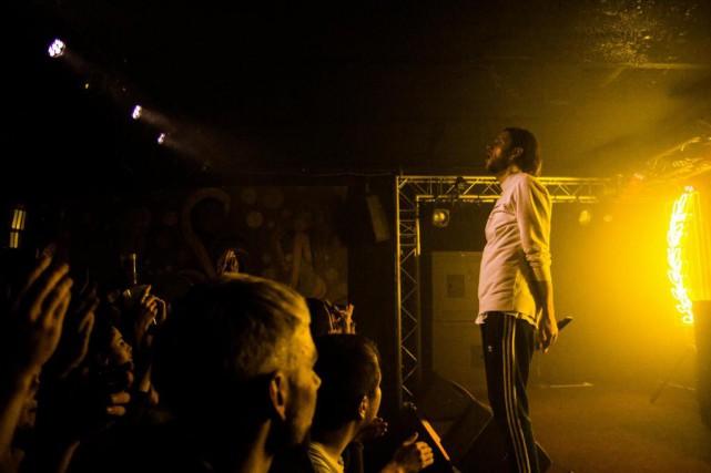 Le rappeur québécois Loud en spectacle à La... (PhotoWilliam Fradette, fournie par Joyride Records)