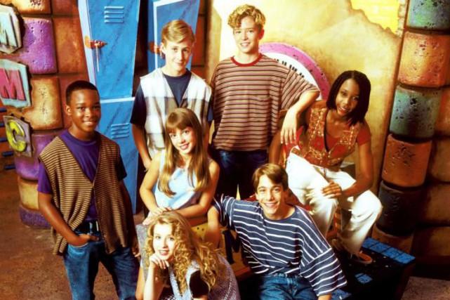 Justin Timberlake (en haut à droite) au Mickey... (Photo fournie par Walt Disney Co.)