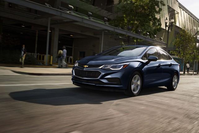 La Chevrolet Cruze diesel affiche une consommation officielle...