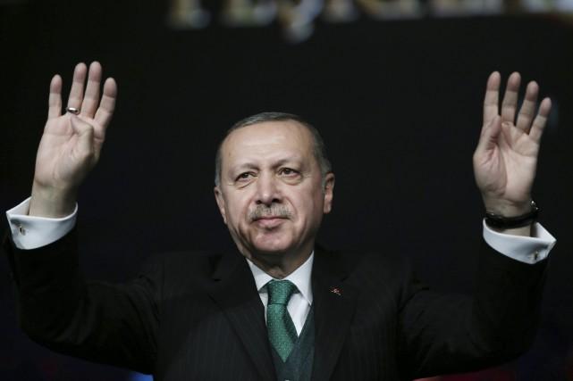 Recep Tayyip Erdogan... (AP)