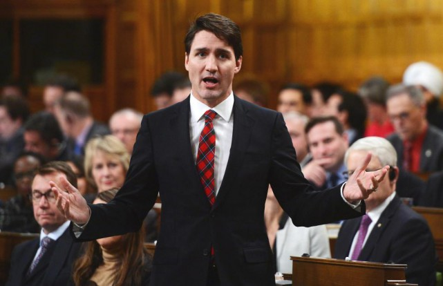 « Peu après son élection, le gouvernement Trudeau a... (photo sean kilpatrick, archives la presse canadienne)