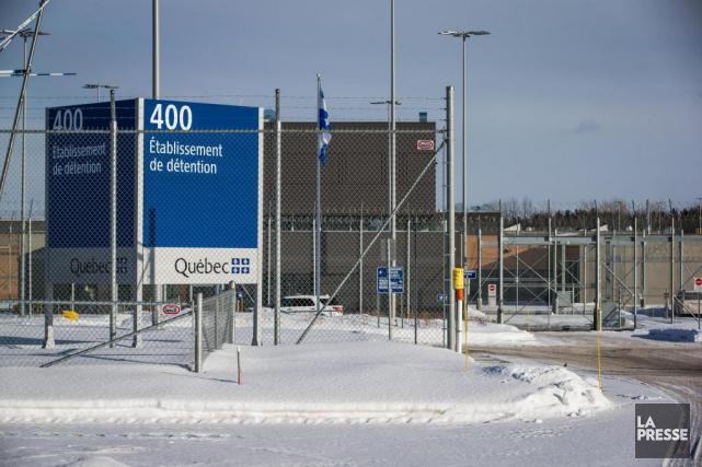 Le centre de détention de Sorel-Tracy, construit en... (Photo Olivier PontBriand, La Presse)