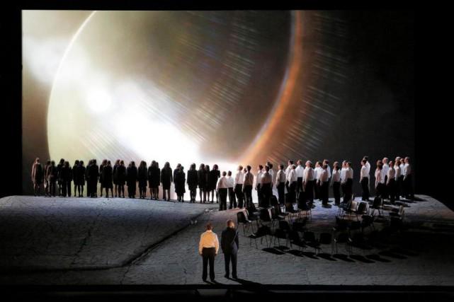 L'opéra Parsifal est présenté dans une mise en... (Photo Ken Howard, fournie par le Metropolitan Opera)
