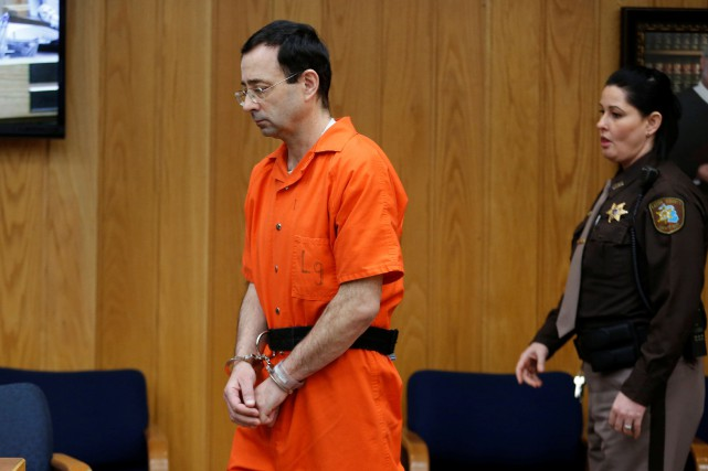 Larry Nassara agressé au moins 265 victimes durant... (Photo Rebecca Cook, Reuters)