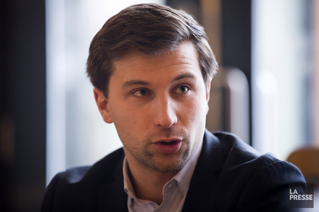 Gabriel Nadeau-Dubois, député de Gouin à Québec solidaire.... (Olivier Pontbriand, archives La Presse)