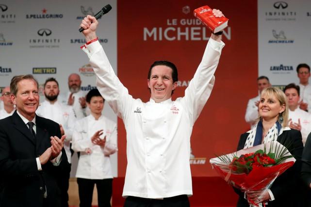 Christophe Bacquié, 45 ans, et sa cuisine méditerranéenne... (PHOTO REUTERS)