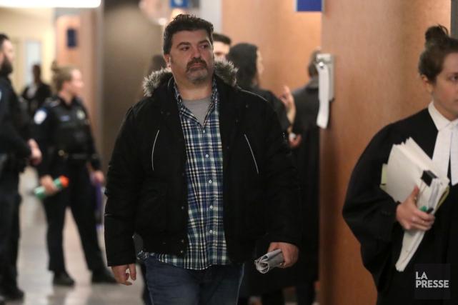 Hisham Saadi est accusé deméfait, menaces et incitation... (Photo Martin Chamberland, La Presse)