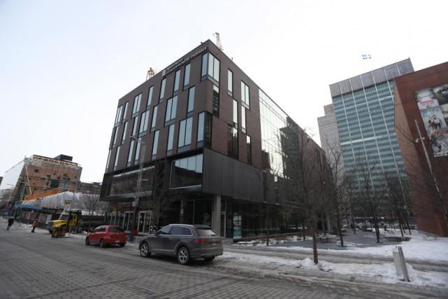 La Maison du développement durable, conçue et construite... (PHOTO MARTIN CHAMBERLAND, LA PRESSE)