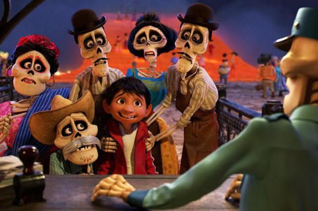 Coco... (Crédit:Disney/Pixar)